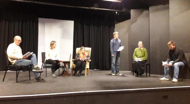 REHEARSAL: See Dangerous Corner at The Warehouse Theatre