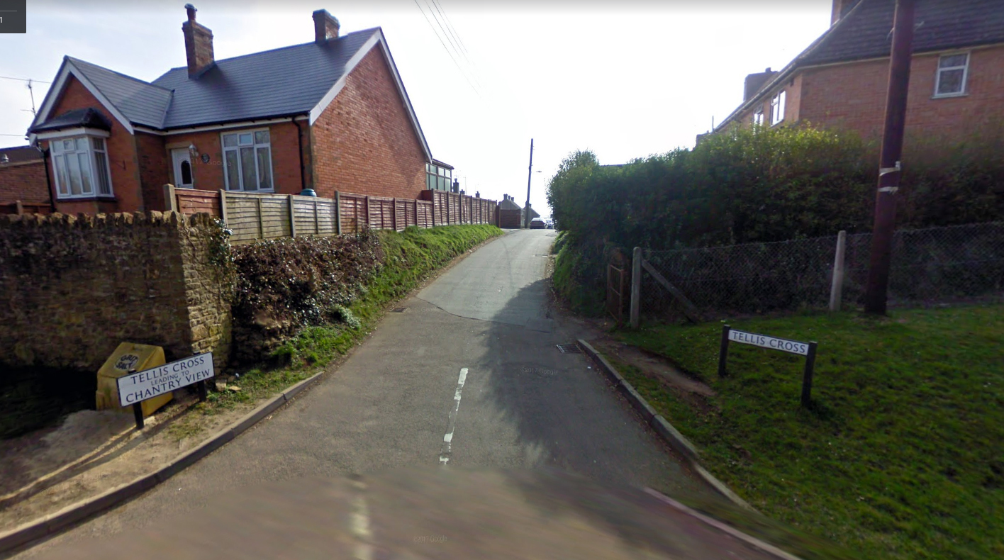SCENE: Firefighters were called to a property in Tellis Cross, East Coker, this morning. PICTURE: Google Street View