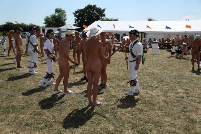 NATURAL: This year's Nudefest to take place near Langport